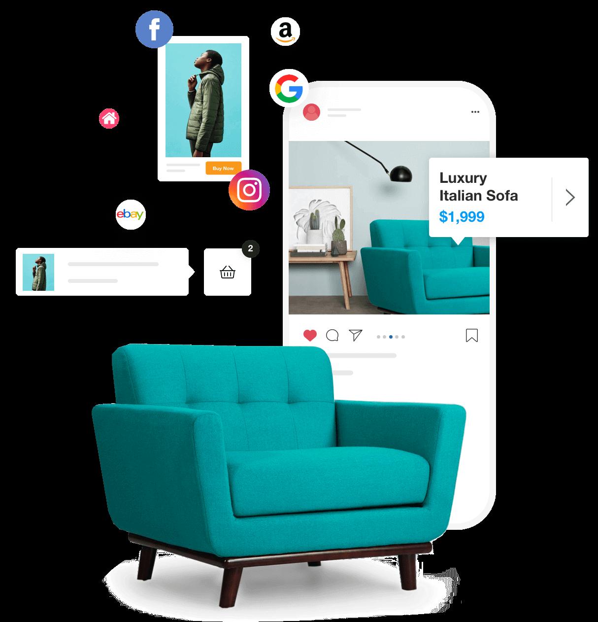 Online shopping integrations